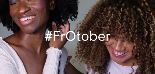 FrOtober Afro hair campaign