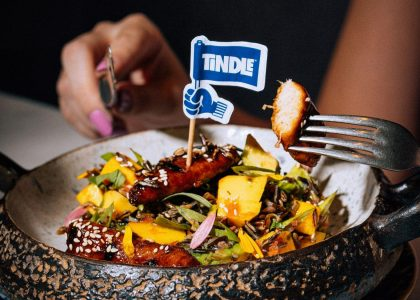 TiNDLE plant-based chicken
